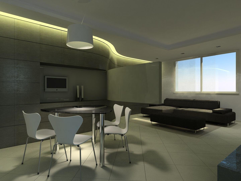 Illuminazione casa design idee creative di interni e mobili - Illuminazione soggiorno led ...